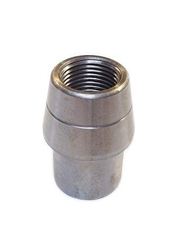 QSC 3/4-16 LH Threaded Weld in Bung .120, Tube Adapter, Threaded Insert