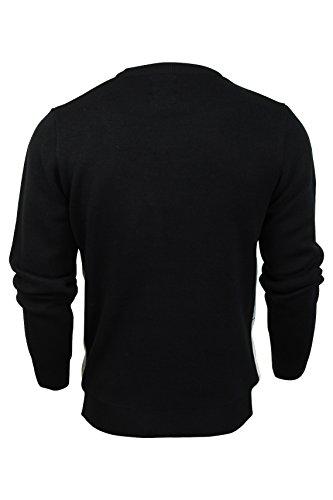 Seasons Work Party Navy Sweater De Greetings Pull Noel Dark SwnOqRvS
