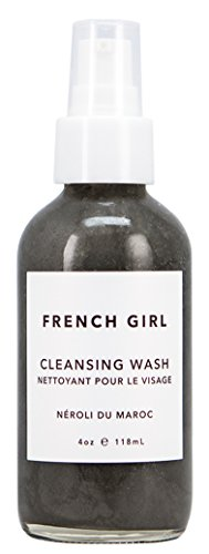 French Girl Organics - Organic/Vegan Charcoal + Neroli du Maroc Cleansing Wash (4 (Dmae Foaming Facial Cleanser)