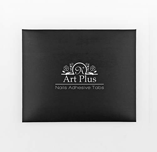 Artplus 240pcs Adhesive Tabs for ArtPlus Short and Small False Nails of 16 colors (Best False Nails Uk)