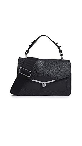 Used, Botkier Women's Valentina Flap Satchel, Black, One for sale  Delivered anywhere in USA