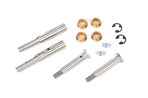 K1500 Door Hinge - Genuine GM Parts 19332887 Upper and Lower Front Side Door Hinge Pins with Bushings, Zerk Fittings, and Clips