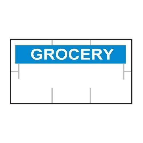 Garvey 1910-85105-CS, GS1910 General Purpose White/Blue Label (2 Cases of 511200 Labels)