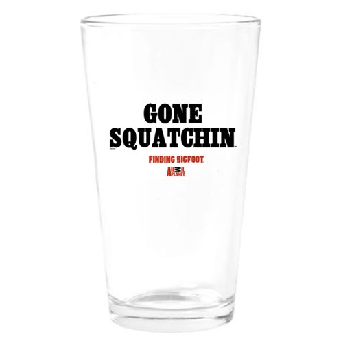 Finding Bigfoot Gone Squatchin Drinking Glass