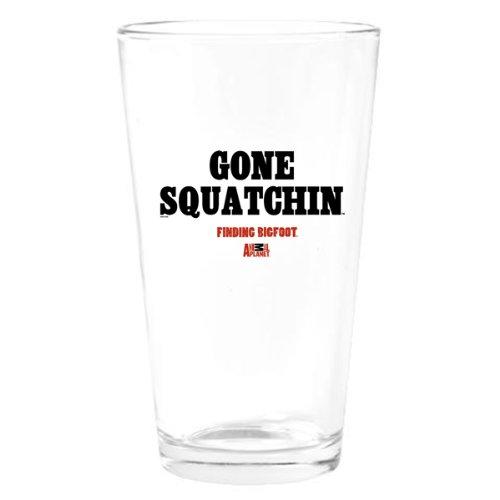 Finding Bigfoot Gone Squatchin Drinking Glass