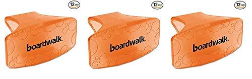 Boardwalk CLIPMAN Bowl Clip, Mango Scent, Orange (Box of 12) (3)