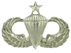 Senior Parachutist Badge (Army Senior Parachutist Badge Mirrored Finish -)