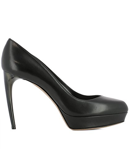 Cuir Escarpins Femme Noir 482166WHMU01000 McQueen Alexander AR0w6g