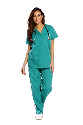 Just Love Women's Jade Scrub Set,Surgical Green,X-Large,Surgical Green,X-Large -