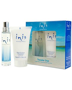 Inis the Energy of the Sea Cologne and Body Lotion Traveler Duo Set Women Cologne Body Spray