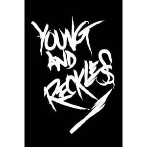 Amazon.com: YOUNG & RECKLESS Sticker- White 24 inch ...