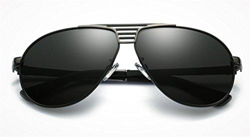 UV Moda Protección Conducción Sol Hombres de de Sol Antideslumbrante Gafas MOQJ de Pilotos Gafas para polarizadas a Deportes B Gafas w4nFqBv