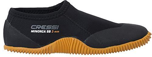 Premium Unisex Bassi Snorkeling Boots Immersione Cressi E Adulto Per suola Nero Neoprene Calzari 3 Shorty Mm Arancio Minorca I8w8CqOz