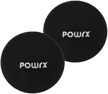 Pilates Toning Ball Paar 0,5 kg Gymnastikball Medizinball Fit 2 St/ück