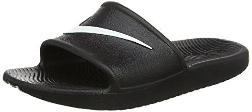 Plage Femmes Kawa noir Noir Shower Chaussures De Wmns Nike Blanc Et Pour Piscine aXqZf