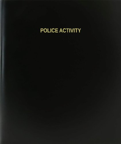BookFactory Police Activity Log Book/Journal/Logbook - 120 Page, 8.5