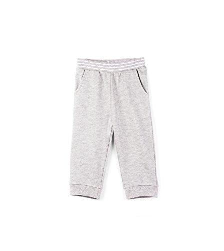 Hatley Baby Boys Mini Joggers, Gray Marl, 12-18 ()