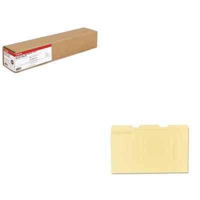 - KITCNM1290V133UNV12113 - Value Kit - Canon Scrim Vinyl Banner (CNM1290V133) and Universal File Folders (UNV12113)