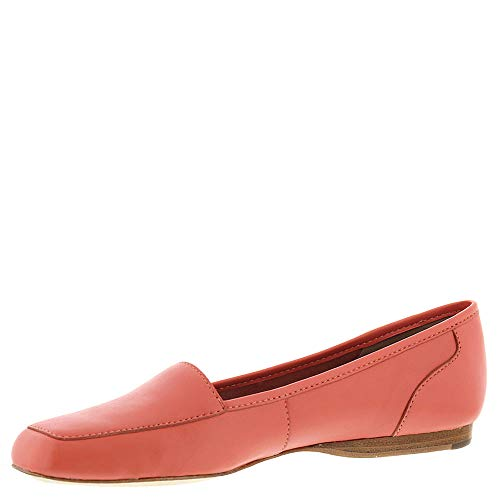 Coral Freedom Loafers Womens Leather Square ARRAY Toe BAYOH6qWcc