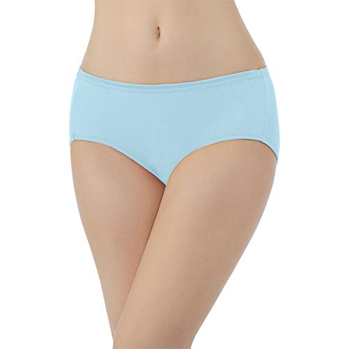 Vanity Fair Women's Illumination Hipster Panty 18107, Blue Topaz, X-Large/8