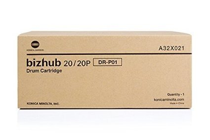 Konica Minolta A32X011 Drum Cartridge For Bizhub 20/ Tonr Bizhub 20p Approx 25000 Prints