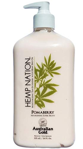 Australian Gold Hemp Nation Pomaberry Tan Extender, 18 Ounce