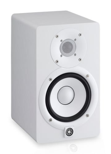 Yamaha HS5 Powered Studio Monitor White (PAIR) w/ Pig Hog PH10 Cables 10FT - NEW