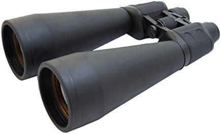 CampCo HUMVEE HMV-B-20X80 Weather Resistant Jumbo Astronomy Binocular, 20×80, Black