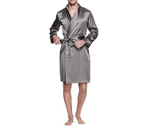 Piping Abbigliamento Blue Uomo Sleepwear Maschile Natural 22 Con Luxury Pure Splendid Navy Silk Contrast 4vxCvqO8