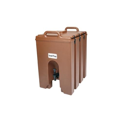 Cambro 1000LCD131 Camtainer Brown 11.75 Gal. Insulated Beverage - Camtainer Brown