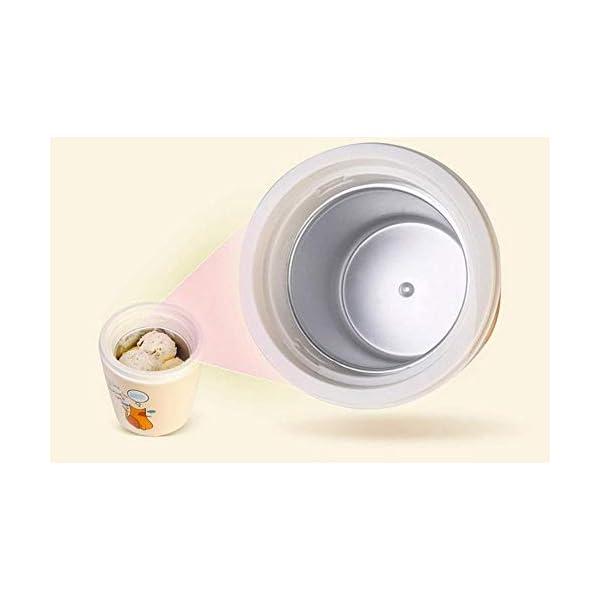 Macchina per Il Gelato elettrica Fai-da-Te congelata Yogurt e amp Sorbetto Macchina Mini Macchina Automatica per Gelati… 5 spesavip
