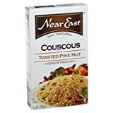 Near East Toasted Pine Nut Couscous Mix, 5.6-Ounce Boxes (Pack of 12) ( Value Bulk Multi-pack)