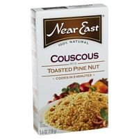 Near East Toasted Pine Nut Couscous Mix, 5.6-Ounce Boxes (Pack of 12) ( Value Bulk Multi-pack) by Near East