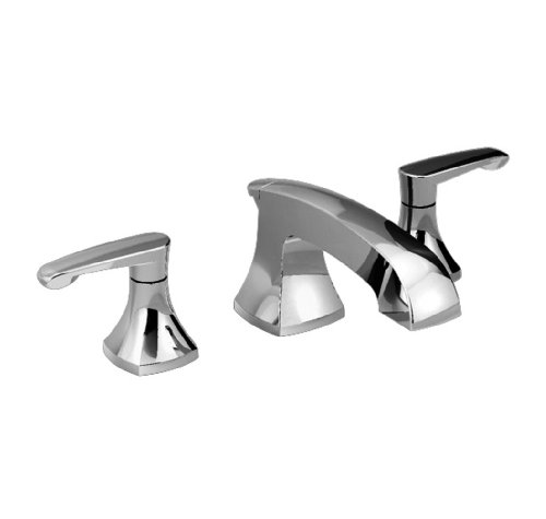 American Standard 7005.801.002 Copeland Two Lever Handle Widespread Lavatory Faucet, Speed Connect Pop Up Drain, Polished Chrome