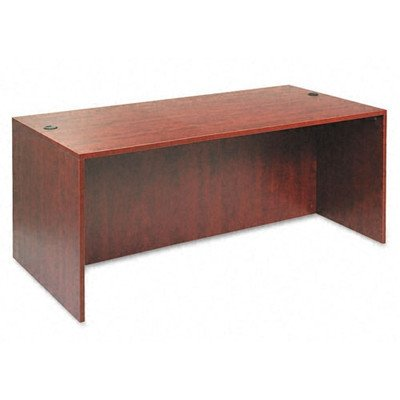 "Valencia Series Desk Shell Finish: Medium Cherry, Size: 29.5"" H x 72"" W x 30"" D"