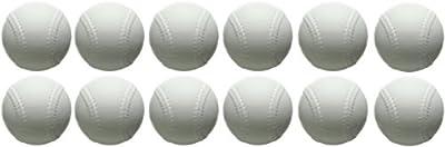 Champion Sports Lightweight Pitching Machine Baseball, Pack of 12