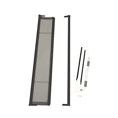 ODL Brisa Premium Retractable Screen for 80 in. Inswing Hinged Doors - Bronze