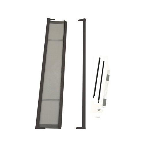 Kit Screen Retractable Door (ODL Brisa Premium Retractable Screen for 80 in. Inswing Hinged Doors - Bronze)