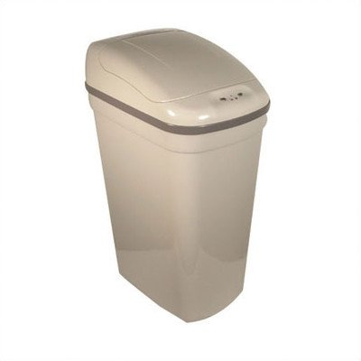 nfrared Trash Can Color: Grey (Gallon Plastic Infrared Trash Can)