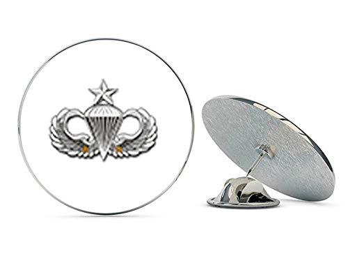 """Veteran Pins US Army Senior 2 Combat Jump Wings Metal 0.75"""" Lapel Hat Pin Tie Tack Pinback"""