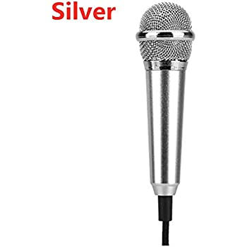 Mini Omnidirectional Condenser Interview Microphone Compatible with iPhone XR XS 8 7//Samsung//HTC//Video Recording//DSLR Camera//Conference//Voice Dictation 5 Ft C Ruittos Lavalier Clip Microphone