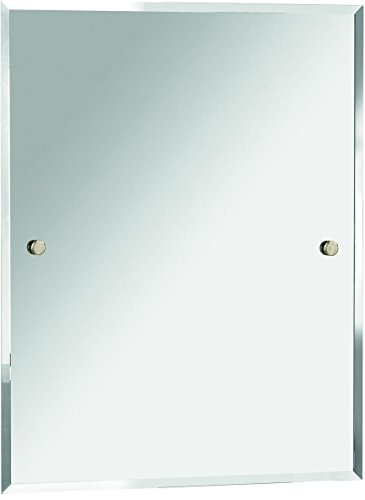 Bristan COMP MRRE G Rectangle Mirror, Gold, 700 x 550 -