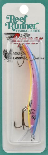Reef Runner 500 Series Little Ripper, 3-3/4-Inch, Bubble Gum