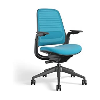 Amazon Com Steelcase Black Mesh Back Reply Chair With