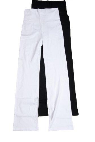 Zenana Women's Fold Over Cotton Spandex Lounge Pants
