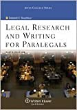 Legal Research and Writing for Paralegals, Bouchoux, Deborah E., 0316103667