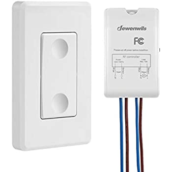 GE Wireless Remote Wall Switch Control, No Wiring Needed, 1 ... on