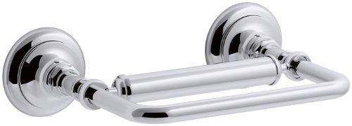 KOHLER K-72573-CP Artifacts Pivoting toilet tissue holder, P