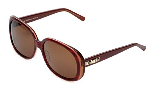 Judith Leiber Designer Sunglasses JL5004-06 in Ruby in Brown ()