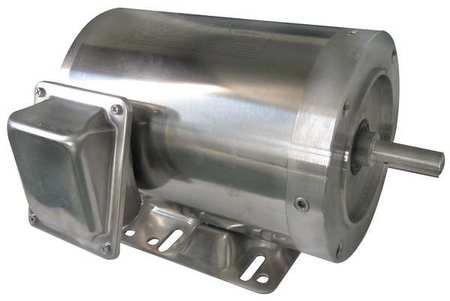 - Dayton 6WY34 Motor, 3/4 HP, Washdown